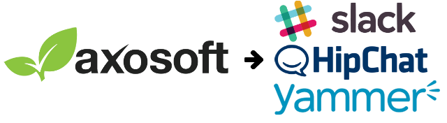 Publish your Axosoft notification data to Slack, HipChat, or Yammer.